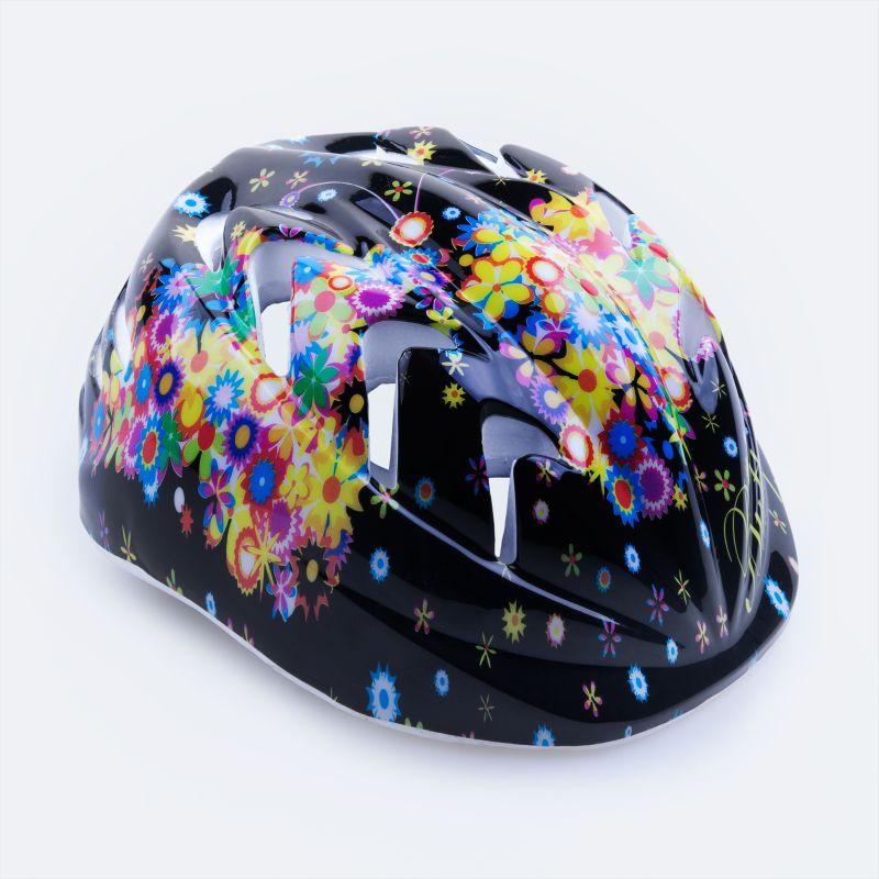 SPOKEY - BUTTERFLY - Dětská cyklistická přilba 44-48 cm