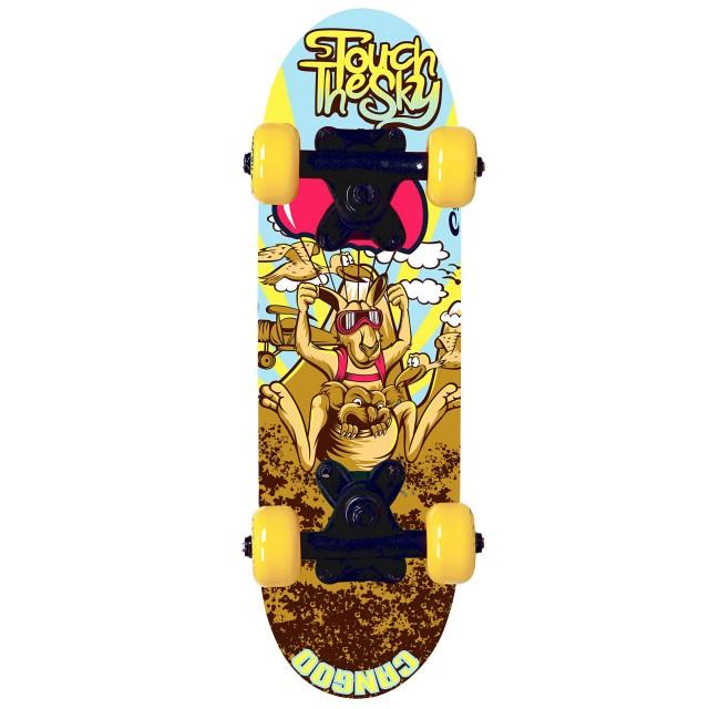SPOKEY - CANGOO Skateboard mini 43 x12,5 cm