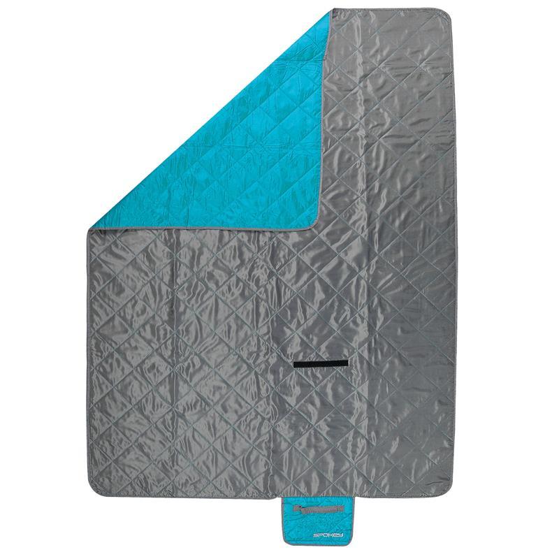 SPOKEY - CANYON Spací pytel 200x140cm, typ: deka, šedo/modrý