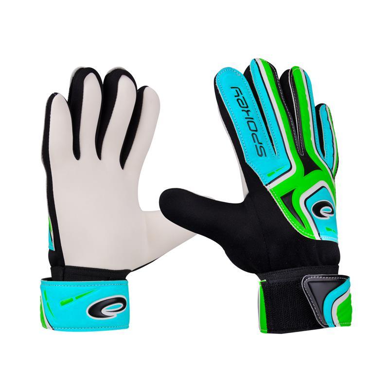 SPOKEY - CATCH II brankářské rukavice zelené rozměr 5