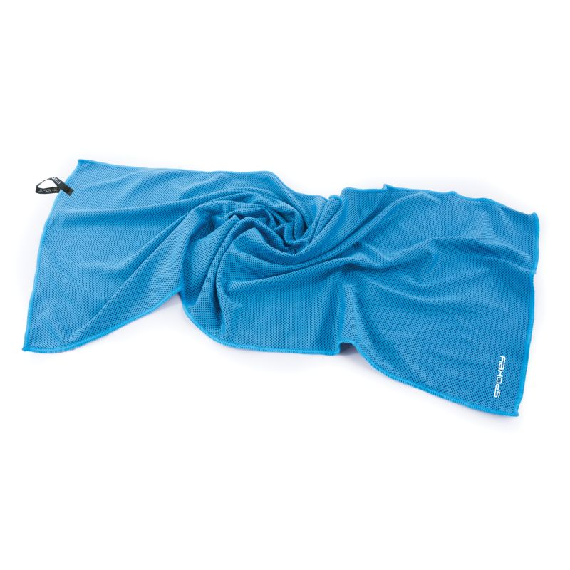 SPOKEY - COSMO Chladící rychleschnoucí ručník 31 x 84 cm, modrý v plastové tubě