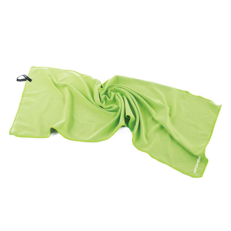 SPOKEY - COSMO Chladící rychleschnoucí ručník 31 x 84 cm, zelený v plastové tubě