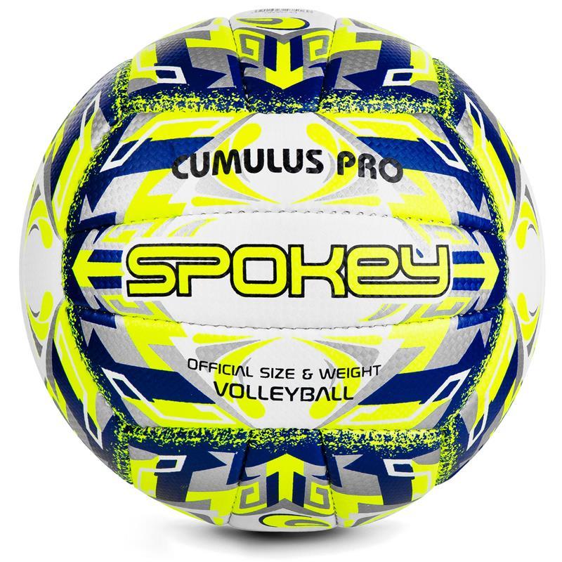 SPOKEY - CUMULUS PRO Volejbalový míč žluto-modrý vel. 5