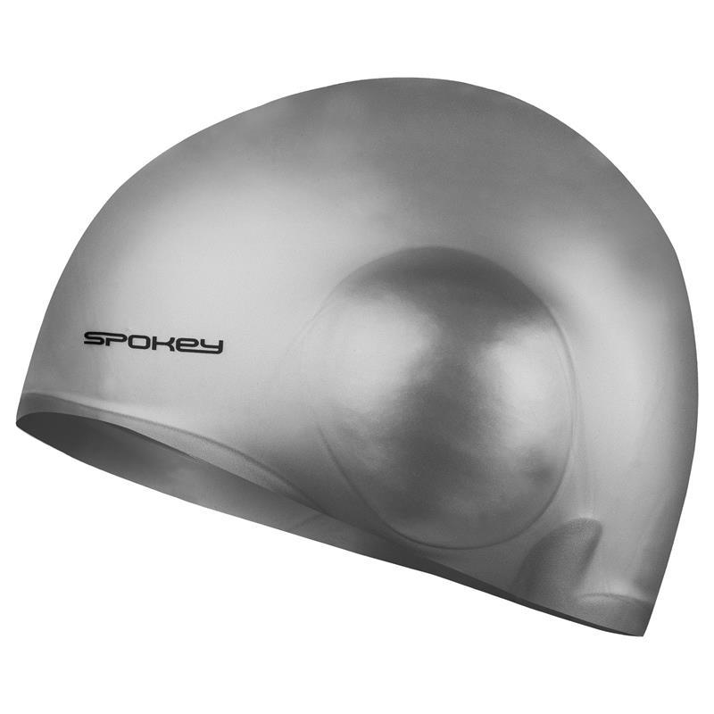 SPOKEY - EARCAP Plavecká čepice, stříbrná