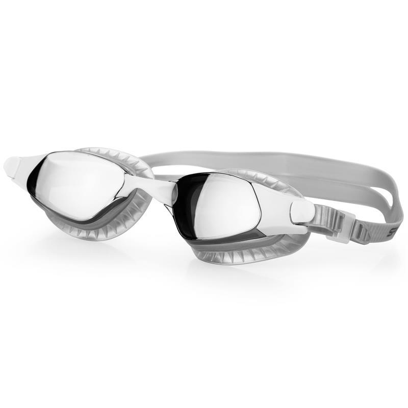SPOKEY - ERISK Plavecké brýle, stříbrné