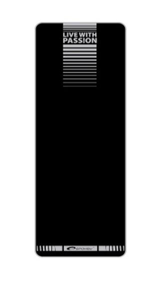 SPOKEY - FLEXMAT II Podložka na cvičení černá