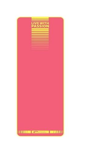 SPOKEY - FLEXMAT II Podložka na cvičení růžová