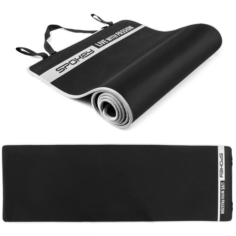 SPOKEY - FLEXMAT V Podložka na cvičení černá