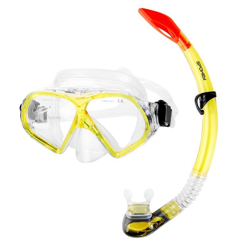 SPOKEY - FLONA dámska sada pro potápění maska+šnorchl