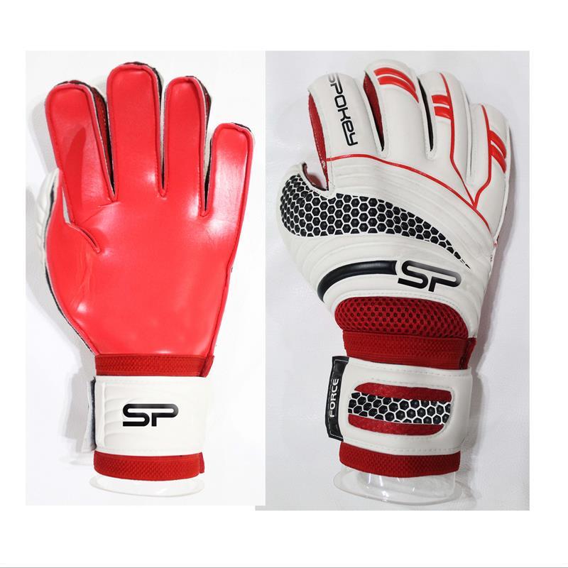 SPOKEY - FORCE PRO Brankářské rukavice červené rozměr 8