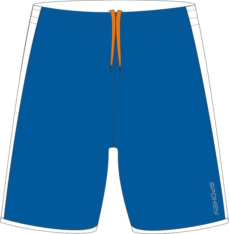 SPOKEY - Fotbalové šortky modré vel. L