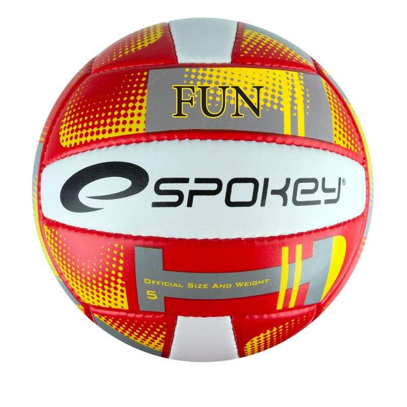 SPOKEY - FUN III Volejbalový míč červená velikost 5
