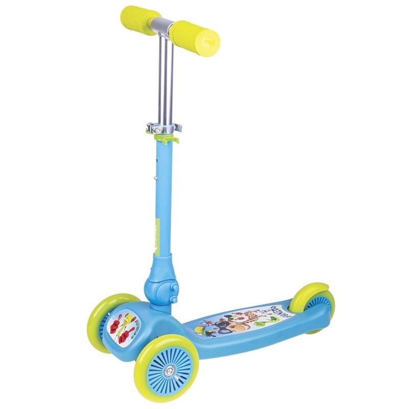 SPOKEY - FUNZOO - Skládací tříkolka dětská modrá