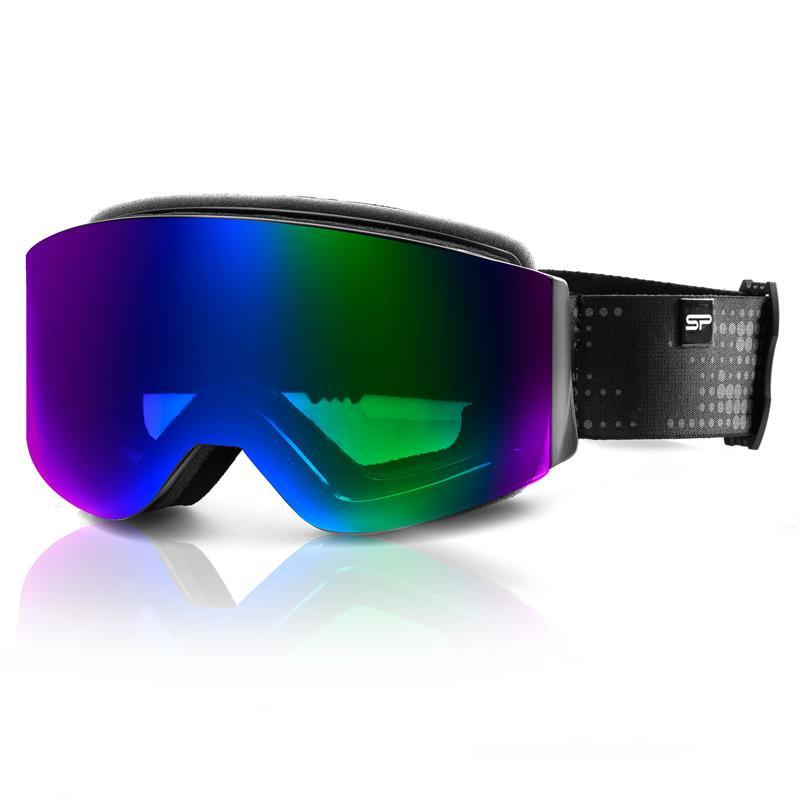 SPOKEY - Spokey GRANBY lyžařské brýle černo-modré