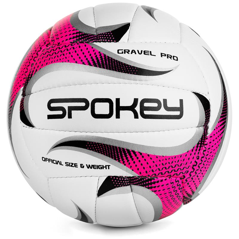 SPOKEY - GRAVEL PRO Volejbalový míč růžový vel. 5
