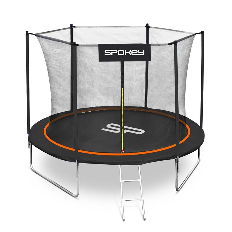 SPOKEY - JUMPER Trampolína černo-oranžová, průměr 244 cm