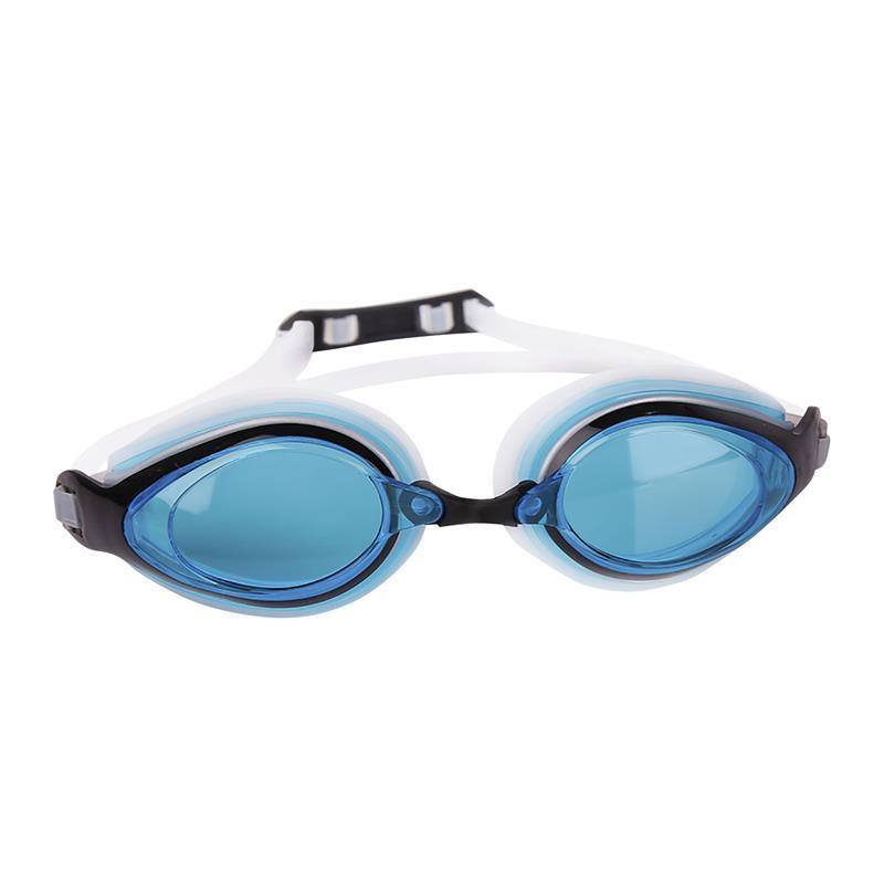 SPOKEY - KOBRA Plavecké brýle, bílé, modré skla