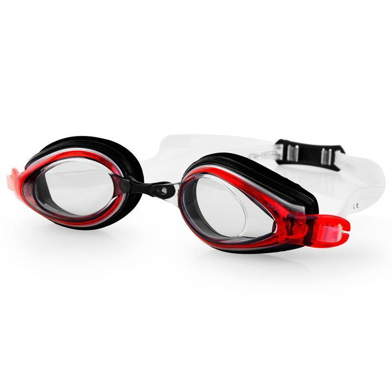 SPOKEY - KOBRA Plavecké brýle, černo-červené