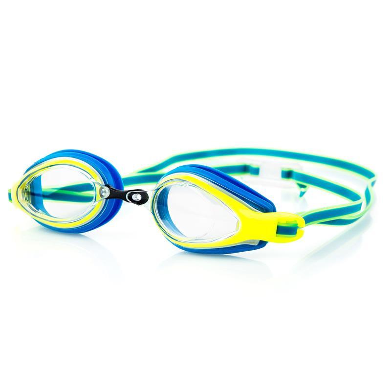 SPOKEY - KOBRA Plavecké brýle, modro-žlté