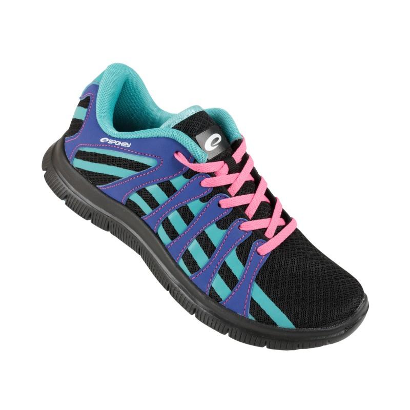 SPOKEY - Liberia 7 Běžecké boty černá - modrá vel. 37