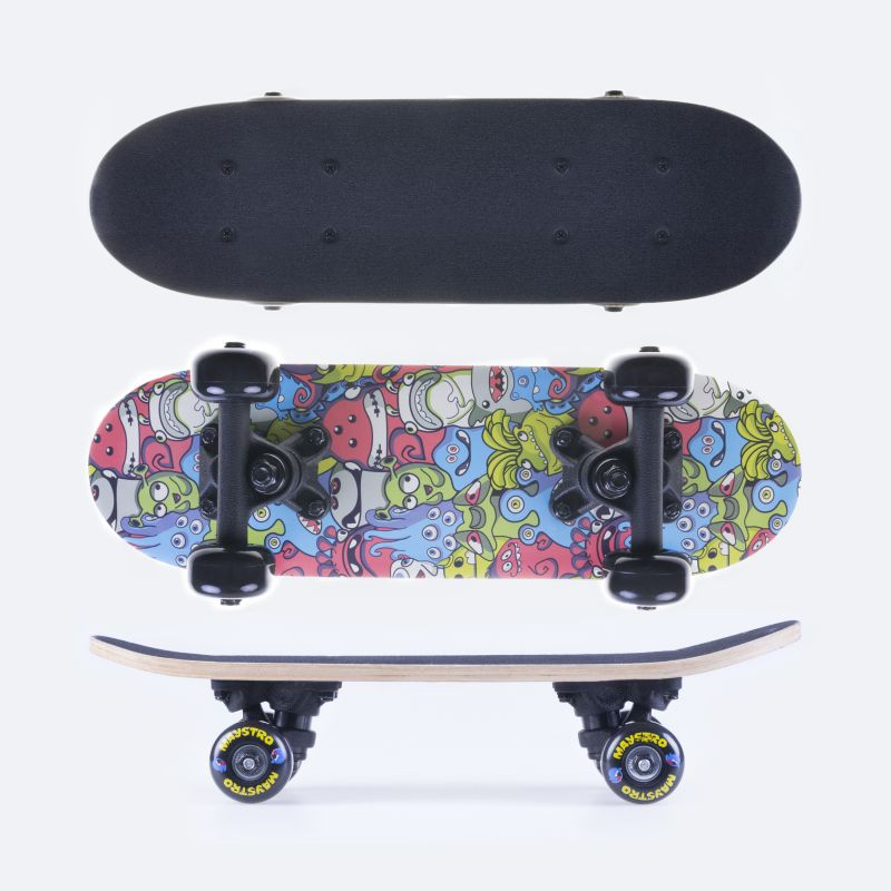 SPOKEY - MAYSTRO Skateboard mini 43 x12,5 cm