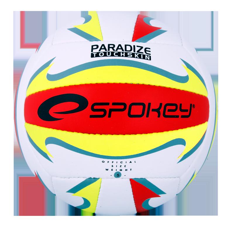 SPOKEY - PARADIZE II Volejbalový míč bílo-žlutý vel.5