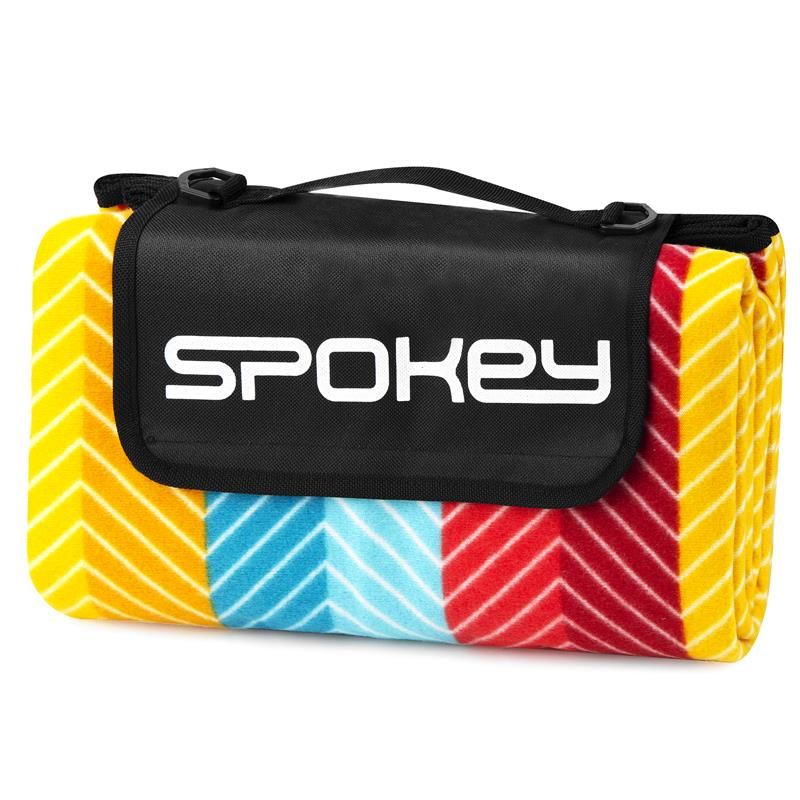 SPOKEY - PICNIC GRAIN Pikniková deka s popruhem 130x150 cm
