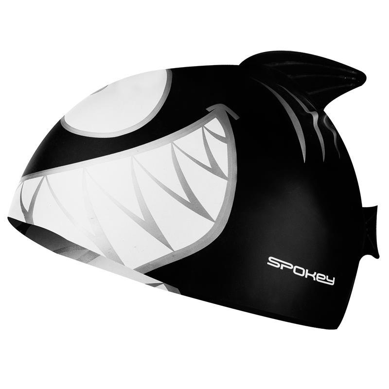 SPOKEY - REKINEK-Plavecká čepice ŽRALOK černá
