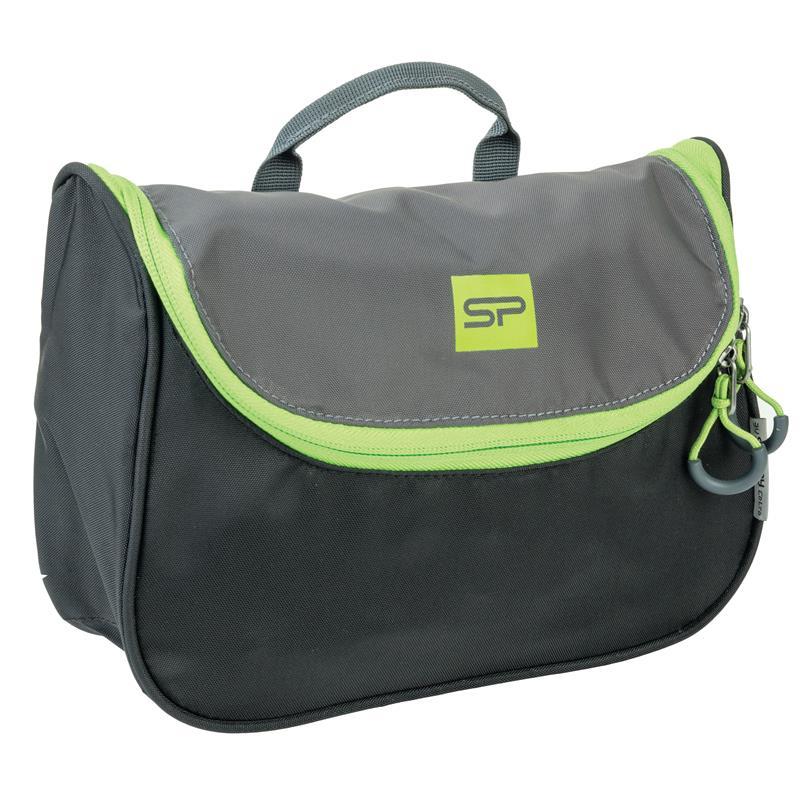 bdf4c8746954e SPOKEY - RESORT Menší kosmetická cestovní taška černo-zelená