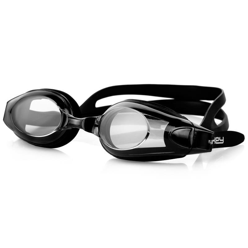 SPOKEY - ROGER Plavecké brýle, čierno-červené
