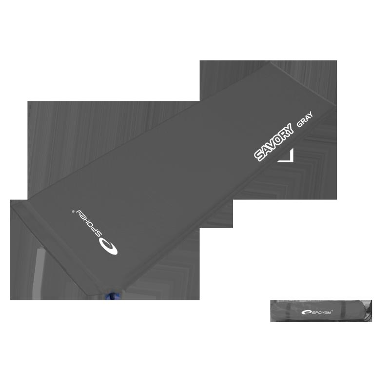 SPOKEY - Savoro GRAY Samonafukovací matrace 2,5 cm