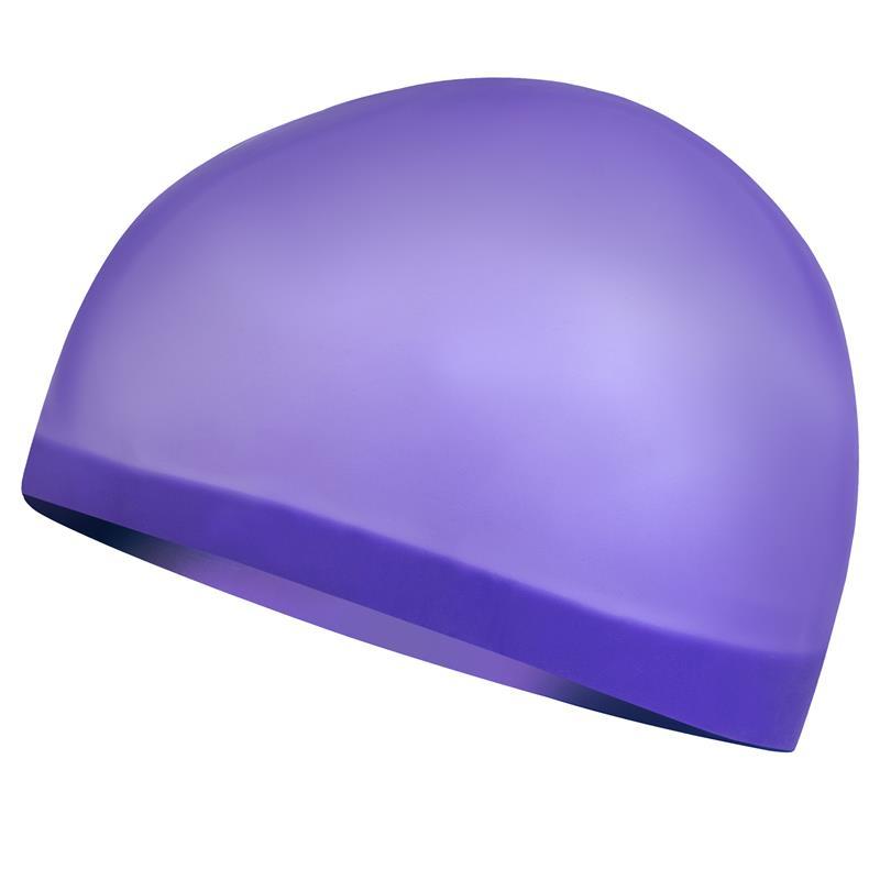 SPOKEY - SEAGULL Profesionální plavecká čepice fialová