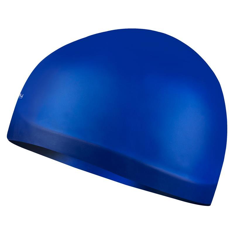 SPOKEY - SEAGULL Profesionální plavecká čepice modrá