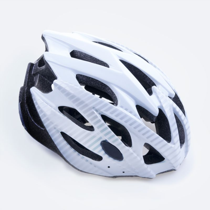 SPOKEY - SKY - Cyklistická přilba pro dospělé bílá 55-58 cm