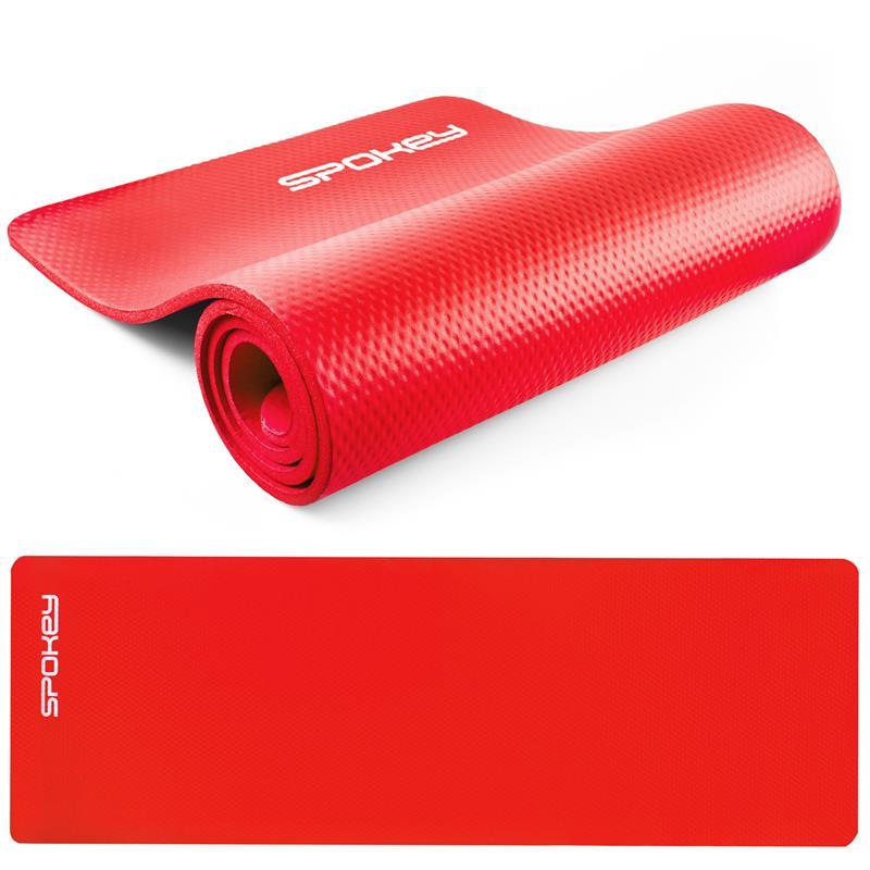SPOKEY - SOFTMAT podložka na cvičení_červená 1,5 cm