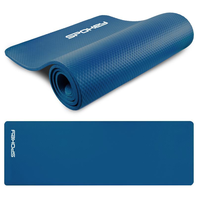 SPOKEY - SOFTMAT podložka na cvičení_modrá 1,5 cm