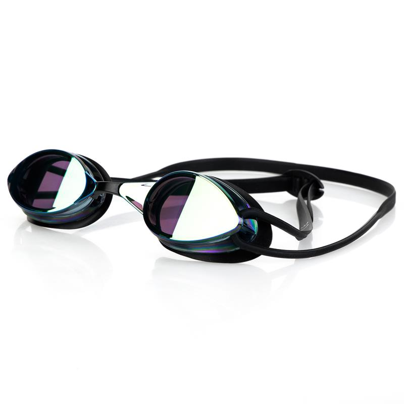 SPOKEY - SPARKI Plavecké brýle, černé, zrcadlová skla