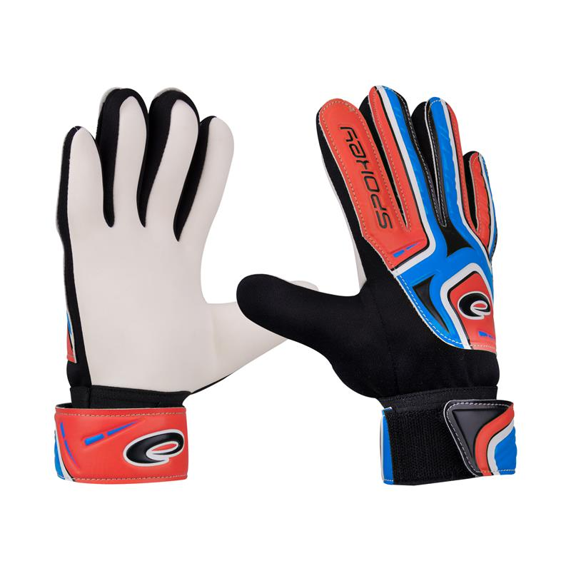 SPOKEY - Spokey CATCH II brankářské rukavice roz.5 modro-čevené