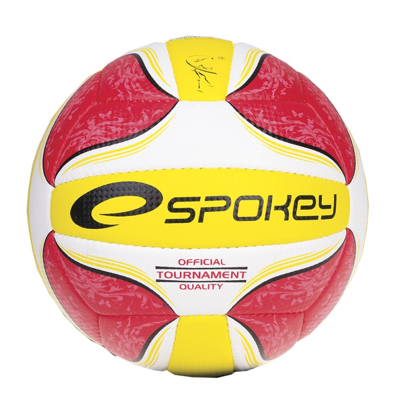 SPOKEY - STREAK II Volejbalový míč červený č.5