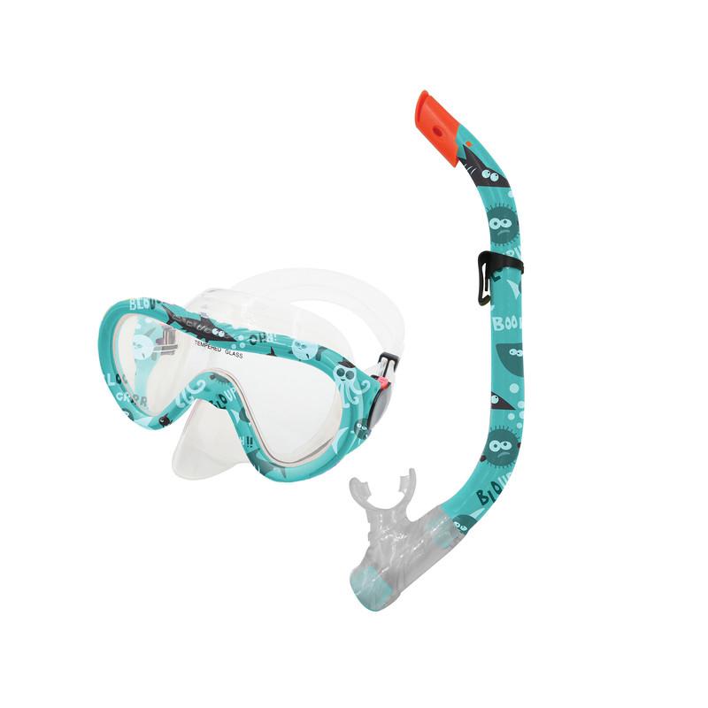 SPOKEY - TAHITI JUNIOR-Sada brýle+šnorchl modrý vodní svět