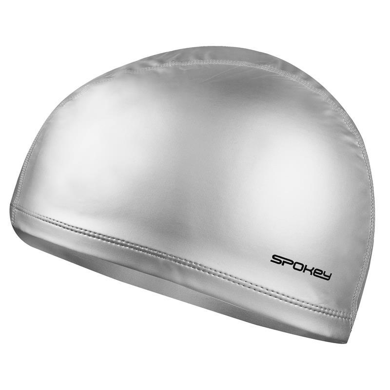 SPOKEY - TORPEDO - plavecká čepice dvouvrstvá stříbrná