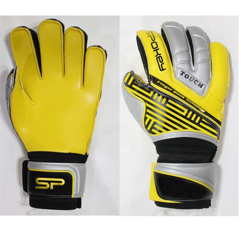 SPOKEY - TOUCH PRO Brankářské rukavice žluté rozměr 9