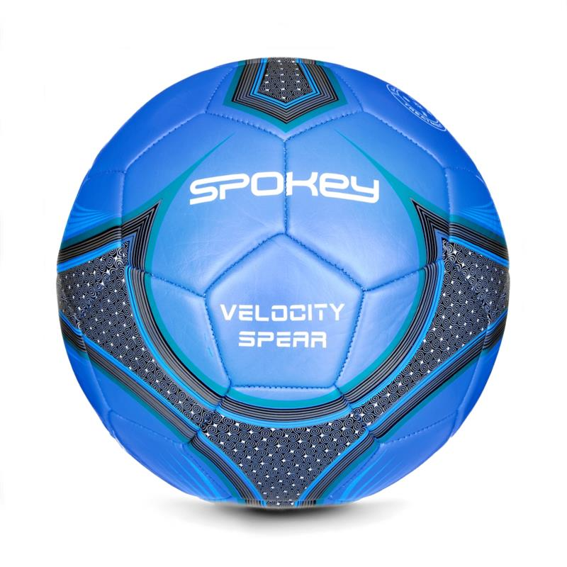 fb9fb2610786e SPOKEY - VELOCITY SPEAR - Fotbalový míč modrý vel.5
