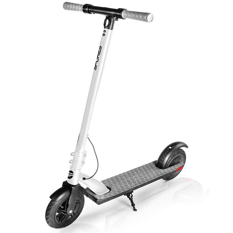 SPOKEY - Spokey VENOM Elektrická koloběžka černo-bílá, kolečka 9,5', do 100 kg