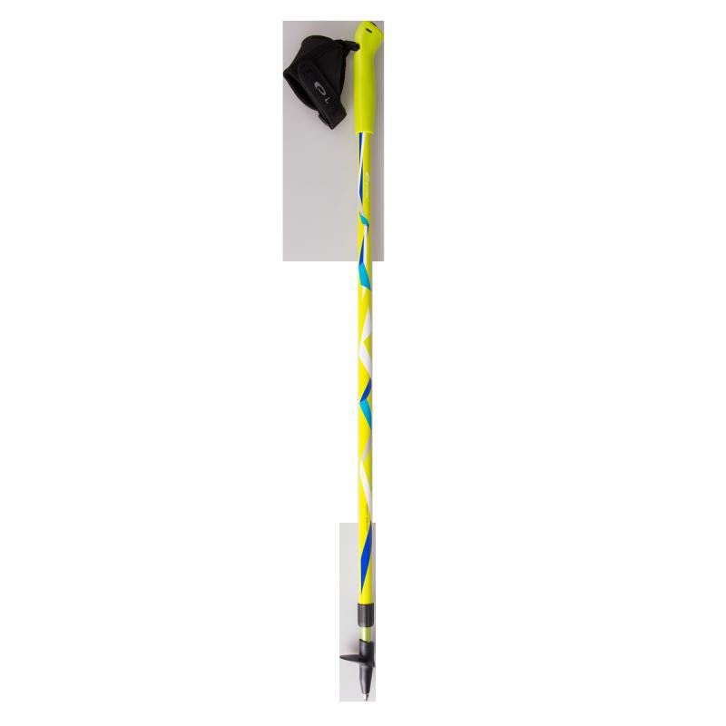SPOKEY - ZIGZAG hole Nordic Walking žluto - barevné