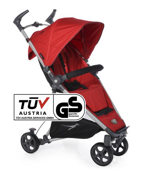 TFK - Sportovní kočárek Dot - Tango Red T-DOT-345