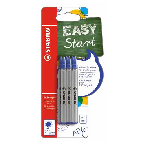 STABILO - Náplň do guľôčkového pera EASY START original 0,3 mm /6ks