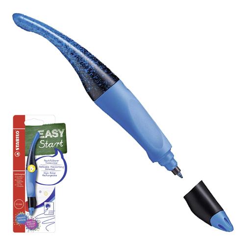 STABILO - Roller kuličkový EASYoriginal START GRAFFITI pro leváky, modrý