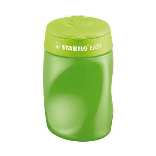 STABILO - Strúhadlo Easy pre pravákov zelené