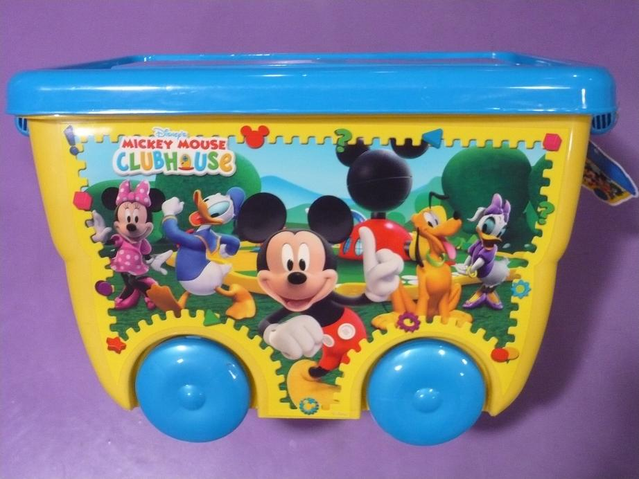 STOR - Kontejner na kolečkách Mickey Mouse